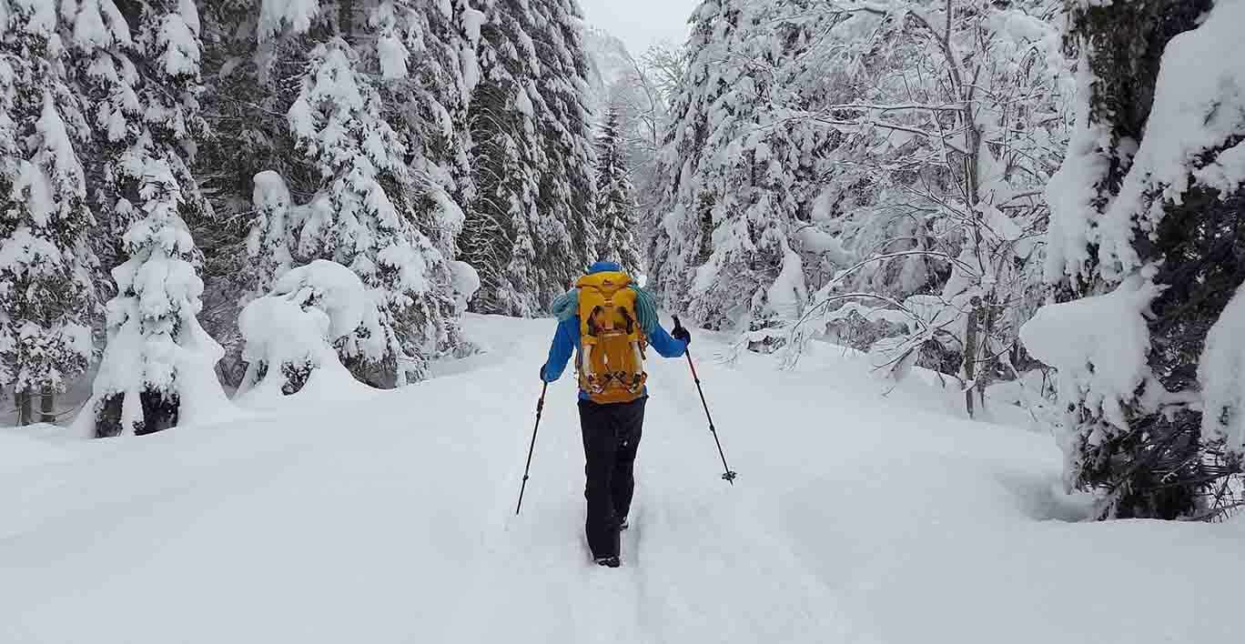 prepare for winter hiking