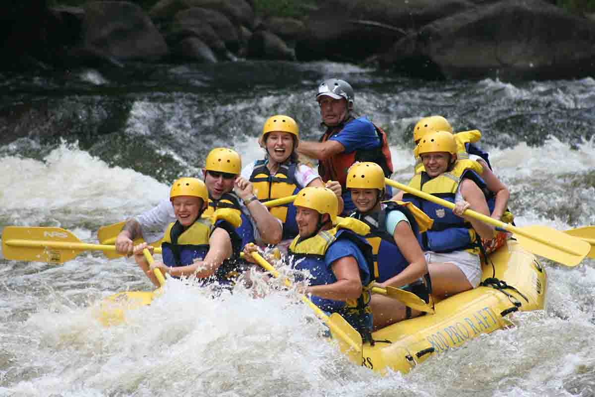 rafting in Sagana river kenya