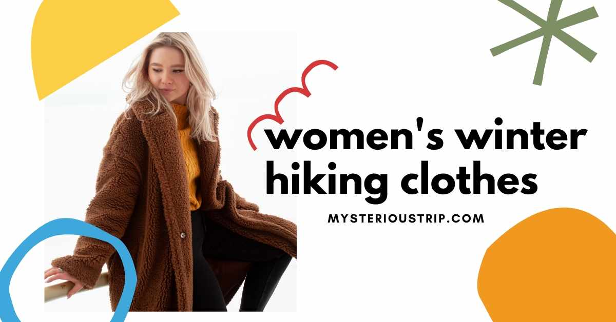 women's winter hiking clothes